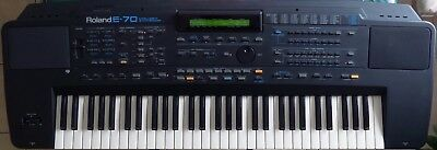 Roland E-70 E70 Synthesizer Synth Arranger Music Keyboard Will Post in Australia