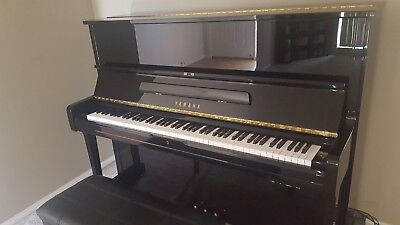 Piano - Yamaha MP100 Silent Upright - Ebony