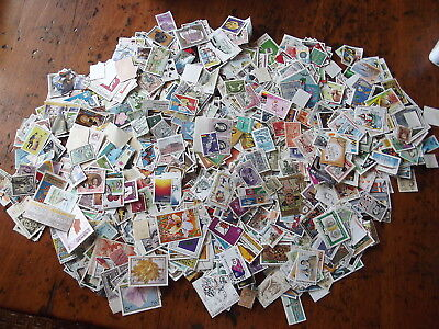 World 250g off-paper with many better stamps100s VERY CLEAN- NO 6