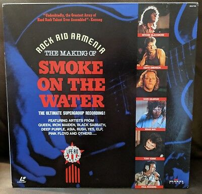Rock Aid Armenia The Making of Smoke on the Water BVLP-26 Laserdisc