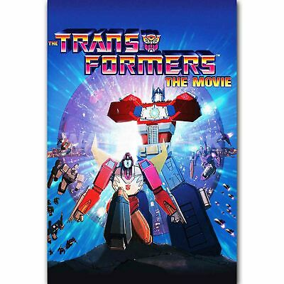 The Transformers The Movie Custom Silk Poster Wall Decor size 24x36 Inch