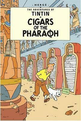 Cigars of the Pharaoh by Herge (English) Hardcover Book Free Shipping!