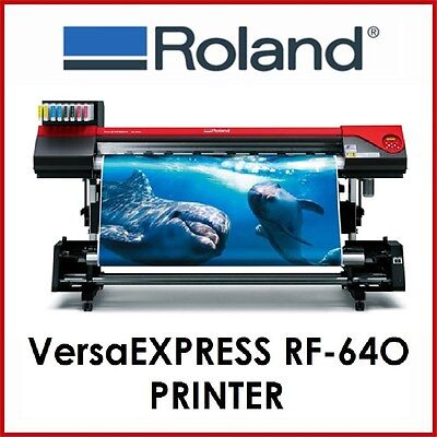 ROLAND PRINTER - VersaEXPRESS RF-640 -  BRAND NEW - FIXED PRICE DELIVERY