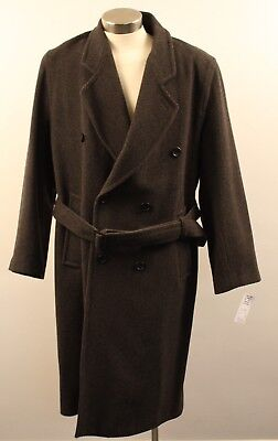 "Large, Original Vintage Mens  Long Coat, Light Weight ""john Robert"" Of London."