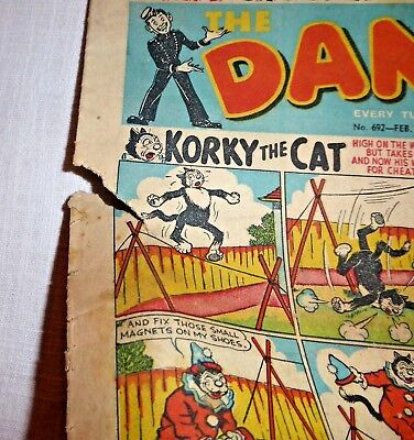 DANDY Comic - No. 692  February 26th 1955 - Reading copy