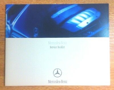 Mercedes Service Book New Not Duplicate All Models Petrol And Diesel>