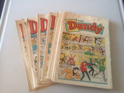 The Dandy Comic x18 from 1971 Korky The Cat Desperate Dan