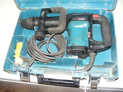 Makita HM0860c 110v SDS Max demolition hammer  breaker Chipping