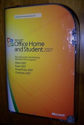 Microsoft Office Home And Student 2007 - Still Sealed