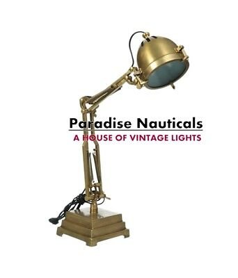 Antique Nautical Industrial Lamp CLASSIC OXFORD Italia Desk Lamp For Home decor