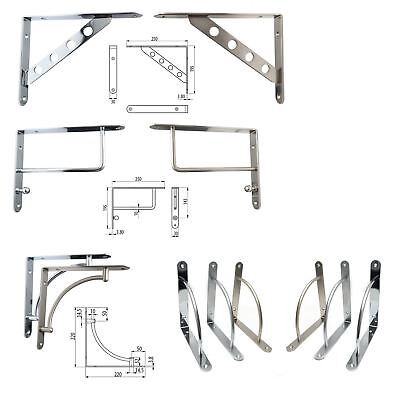 Heavy Duty Shelf Bracket Corner Brace Support Steel Quality