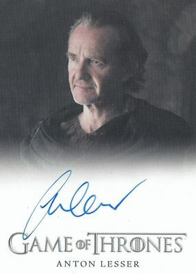 Game Of Thrones Season 6 - Anton Lesser (Qyburn) Autograph Fb Limited