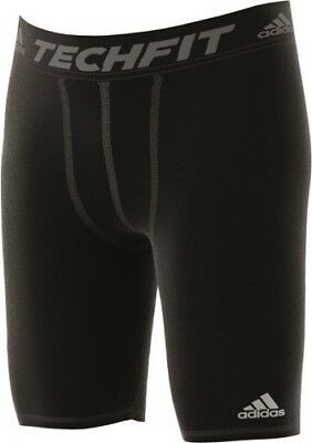 Adidas Herren Tight Base Short, Tech Fit, Kompression, Lauf-, Unter-,hose AJ5037