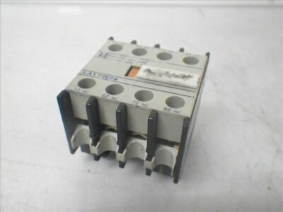 LA1 DN 40 LA1DN40 Telemecanique auxiliary contact block (Used and Tested)