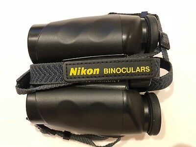 NIKON TRAVELITE V 10x25 Compact Binoculars With Carry Case