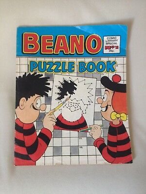 Beano Comic Puzzle Book number 1 Beano Comic Library Special No. 1
