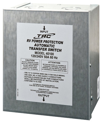 New Technology Research 40100 50 Amp Surge Guard Automatic Transfer Switch