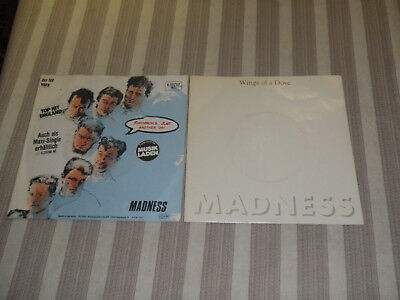 "MADNESS: Tomorrow´s / Wings Of Dove, Nice Lot With 2 SINGLES/ 7""      *YEAH*"