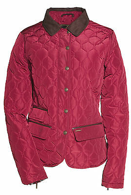 Bnwt;toggi Shipley;ladies Quilted Jacket;claret;8