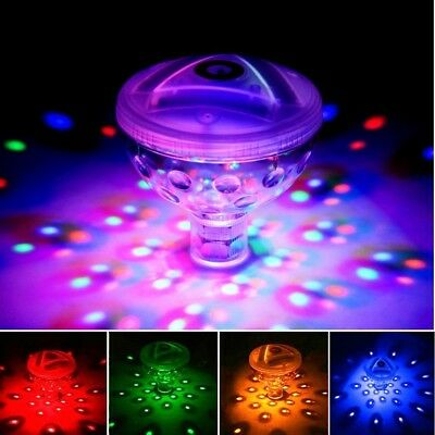 Swimming Pool Party Decor Water Light 5 Modes Colorful Floating Lamp SpA Bath
