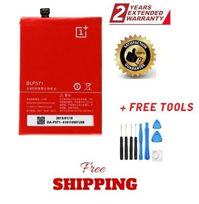 New Original Replacement 3100mAh BLP571 Battery For ONEPLUS ONE 1+A0001+ tools