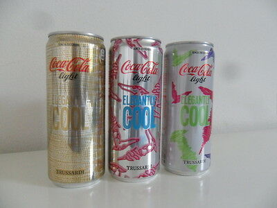 lattine Coca Cola can Light serie TRUSSARDI,nuova.