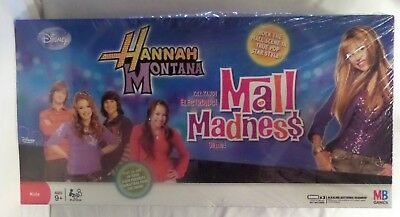 Hannah Montana Talking Electronic Mall Madness Game. New/sealed