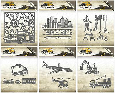 Car Daily Transport Bus SALE Plane Amy Design Cutting Dies /& Stamps
