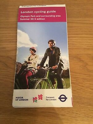 London Cycling Guide - Olympic Park and surrounding area, brand new