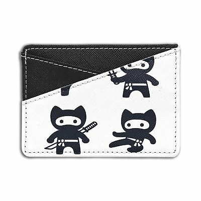 Anime Cat Ninja Credit Card Holder Wallet - S1561
