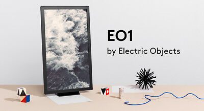 Electric Objects EO1 - Digital Art Frame - All Original Parts, Excellent Cond