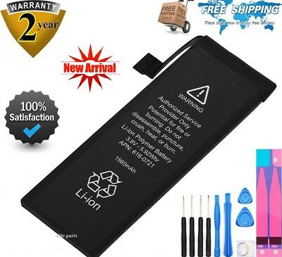 New 1560mAh Li-ion Internal Battery Replacement w/ Flex Cable for iPhone 5S 5C