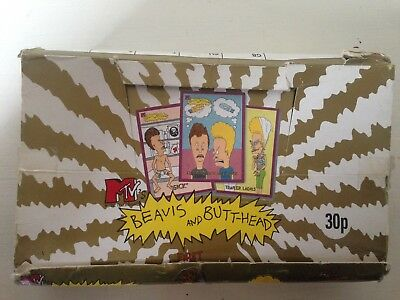 Box Of Beavis And Butt-head Cards 1994