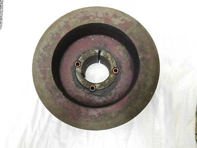 6 inch Diameter 3 Groove V Belt pulleywith Taper lock 1 1/2 inch