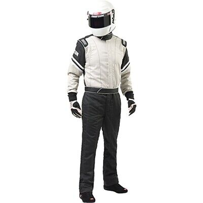 Simpson Racing Suit Legend II Single Layer 1-Piece Fire Resistant 3.2A/1 Rated
