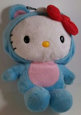 Hello Kitty soft plush stuffed animal mouse costume removable hood with bow