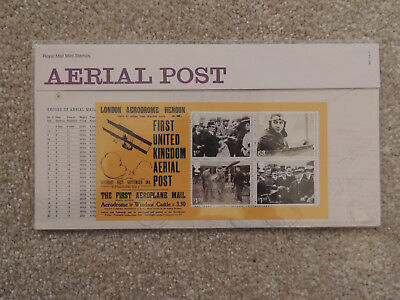 2011 Aerial Post Minisheet Royal Mail Presentantion Pack