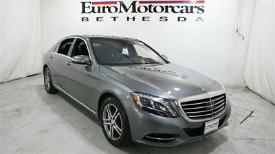 2016 Mercedes-Benz S-Class 4dr Sedan S 550 4MATIC mercedes benz s 500 550 s550 14 15 16 used certifiied navigation silver gray