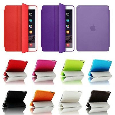 Smart Crystal Transparent Clear Folding Case Cover For Apple iPad Mini 1/2/3