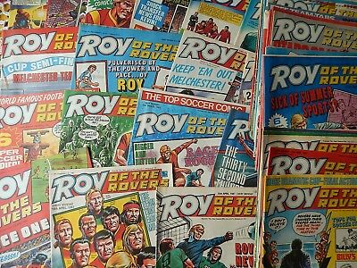 Vintage Roy Of The Rovers Comics 1987 - 51 of 52 Comics 1987