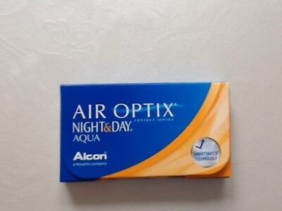 Kontaktlinsen Alcon AIR Optix Night & Day Aqua PWR -2.75 BC 8.6 DIA 13.8