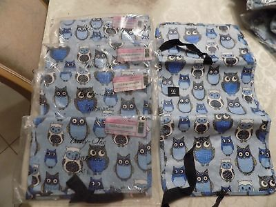 """Retired Thirty One Fold N Go Organizer """" I'M A HOOT OWL"""" New in unopened package"""