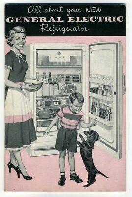 ALL ABOUT YOUR GENERAL ELECTRIC REFRIGERATOR Canada 1953 English French GE