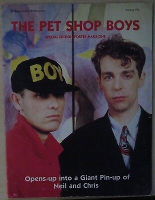 Pet Shop Boys - Special Edition Poster Magazine (1987 Uk Poster Magazine)