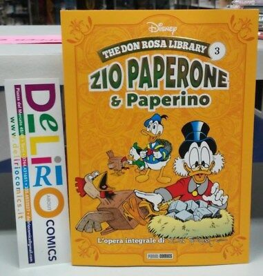 THE DON ROSA LIBRARY:ZIO PAPERONE E PAPERINO VOL.3 Ed. PANINI COMICS SCONTO 10%