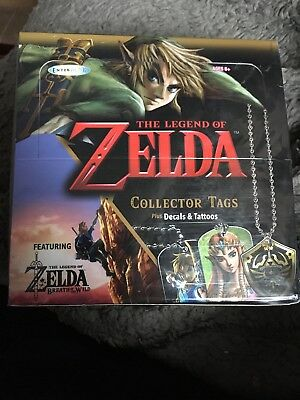 Legend of Zelda Collector Tags Gold G2 Hylian Shield Enterplay