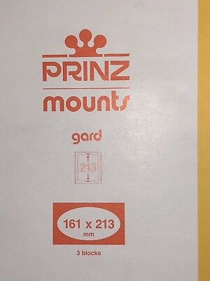 Prinz Stamp Mounts 161/213  ***We Are A Veteran Supportive Business***
