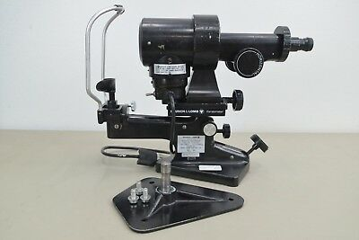 Bausch & Lomb Keratometer 71-21-35 Opthalmometer Opthalmology (14355)