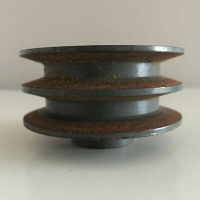 """Double Drive Pulley 3"""" Diameter 5/8 Bore"""