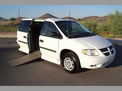 2007 Dodge Grand Caravan SE Handicap Wheelchair Mobility Van 2007 Dodge Caravan SE Wheelchair Handicap Mobility Van Low Miles